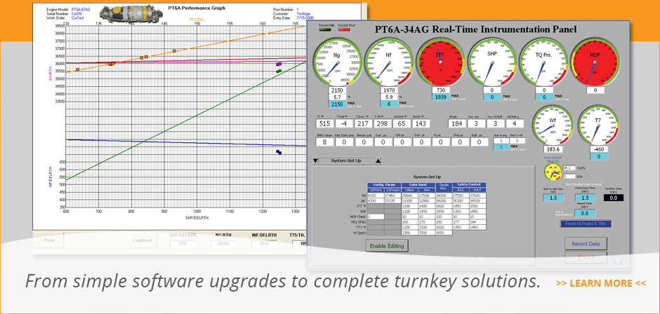 From simple software upgrades to complete turnkey solutions.
